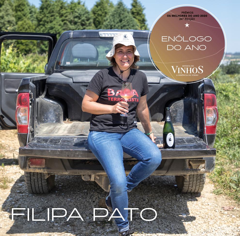 Filipa Pato Winemaker of the Year 2020 by Revista de Vinhos